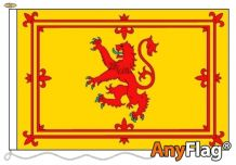 SCOTLAND LION ANYFLAG RANGE - VARIOUS SIZES